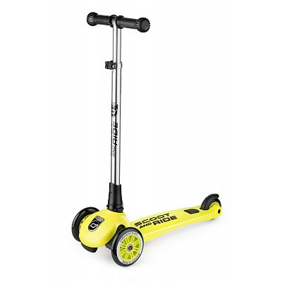Австрийский безопасный самокат Scoot-Ride HighwayKick 3 Light (лайм)