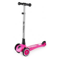 Австрийский безопасный самокат Scoot-Ride HighwayKick 3 Light (розовый)