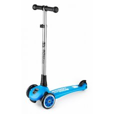 Австрийский безопасный самокат Scoot-Ride HighwayKick 3 Light (синий)